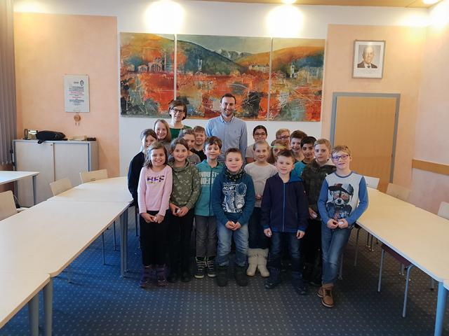 Besuch am Gemeindeamt Mitterdorf