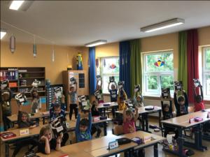 Schulhefte im Sturm-Format