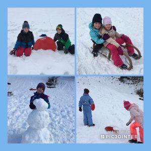 Schneespass