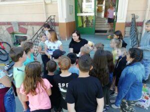 Besuch von Frau Baier