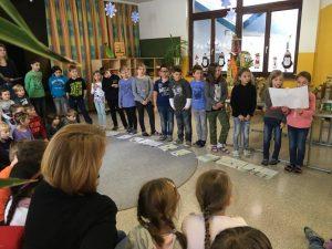 Adventgeschichte mit dem Kindergarten