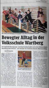 """Ein Artikel in der """"Kleinen Zeitung"""""""